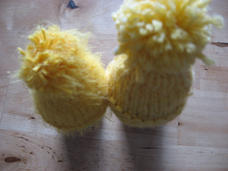 Eiermutsjes breien voor op de seizoentafel