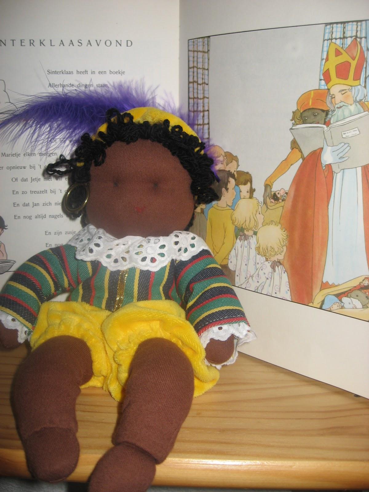 Zwarte Piet op de seizoentafel