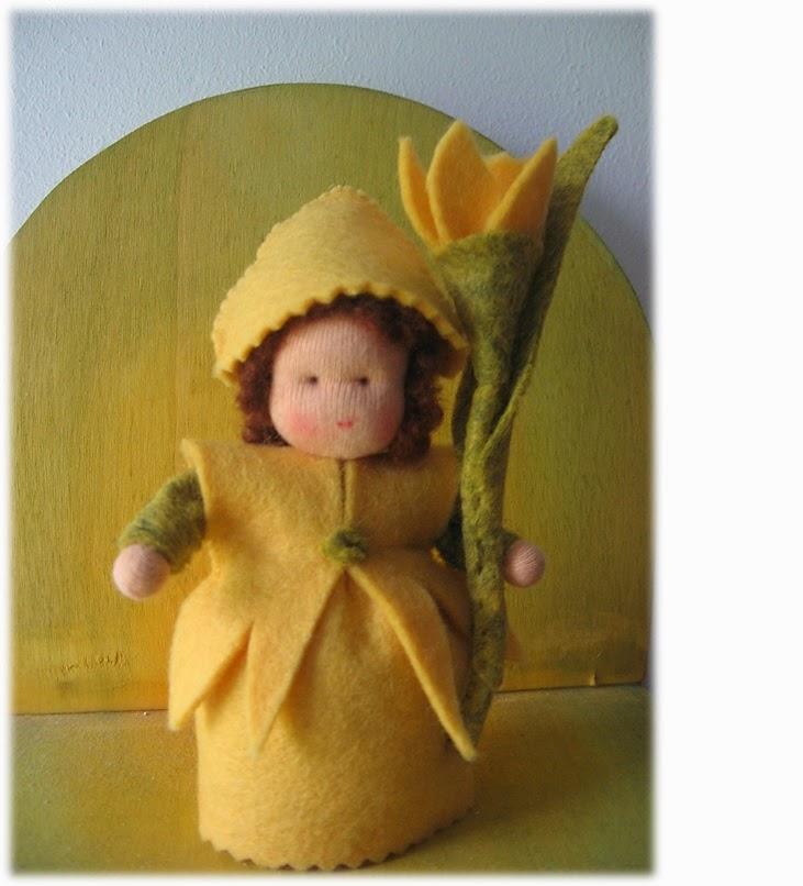 Antroposofisch narcis popje Atelier de Vier Jaargetijden