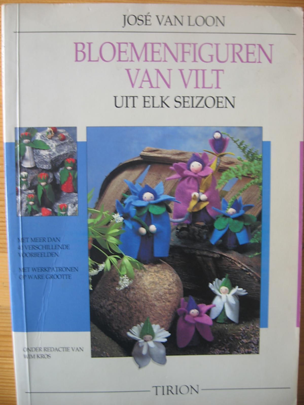 Atelier de Vier Jaargetijden bloemenfiguren van vilt