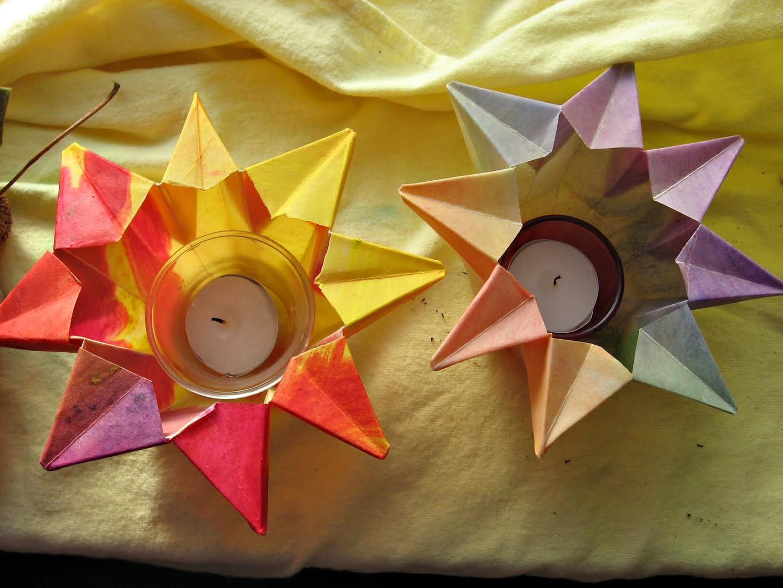 Antroposofisch lichtje Sint Maarten seizoentafel Atelier de Vier Jaargetijden