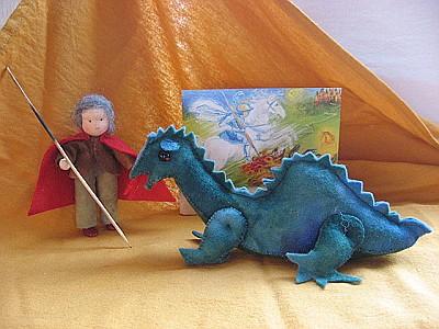 Atelier de Vier Jaargetijden Joris en de draak