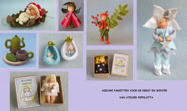 Pippilotta nieuwe ontwerpen kerst winter 2016