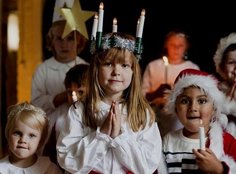 Heel veel inspiratie voor het Luciafeest op de seizoentafel