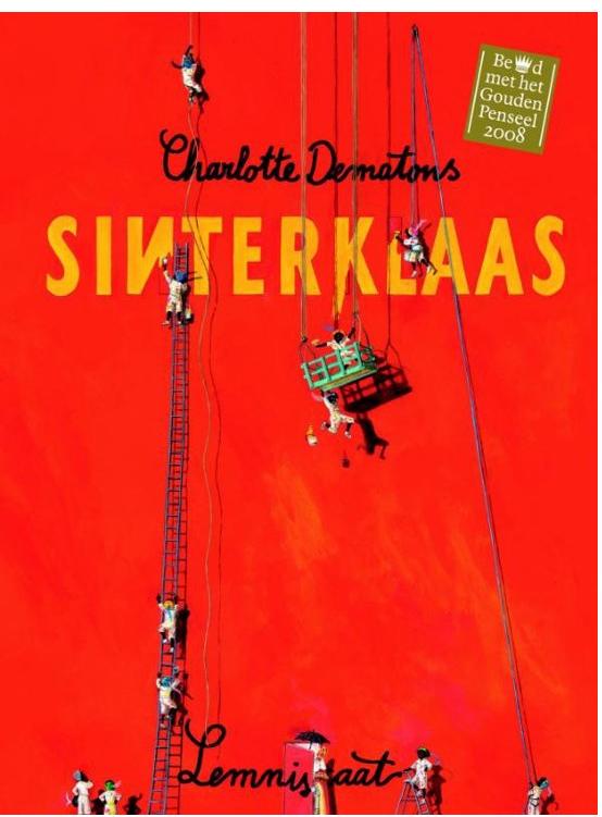 Sinterklaas boek Charlotte Dematons  op de seizoentafel