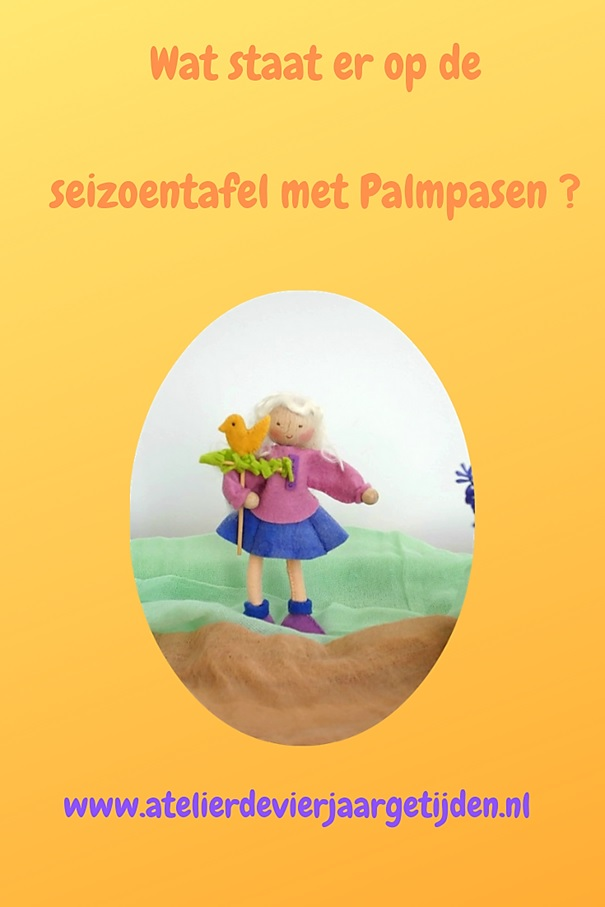 Op de seizoentafel met Palmpasen