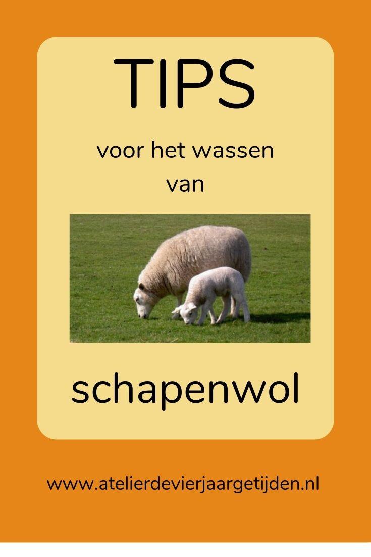 Tips om schapenwol te wassen voor vilt figuren en zonnekind poppen