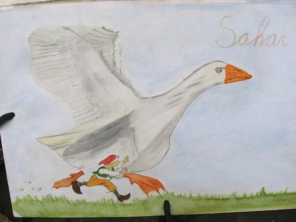 Sinterklaas cadeaus maken op de Vrije school