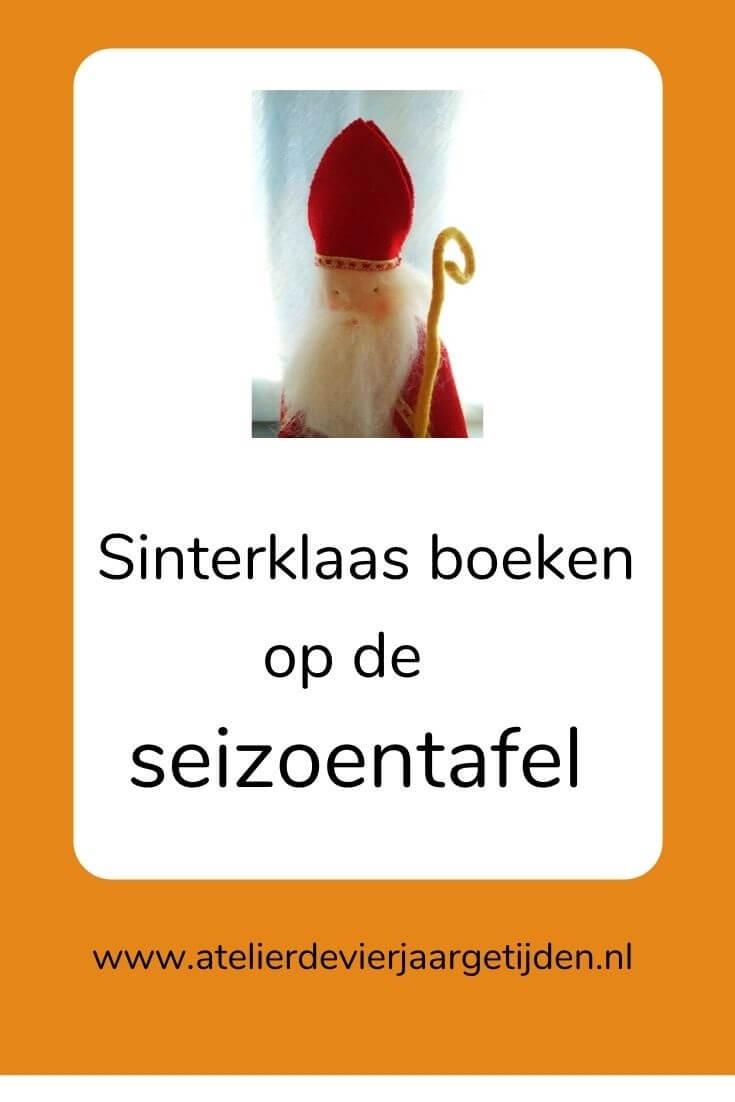 Pinterest pin Sinterklaas