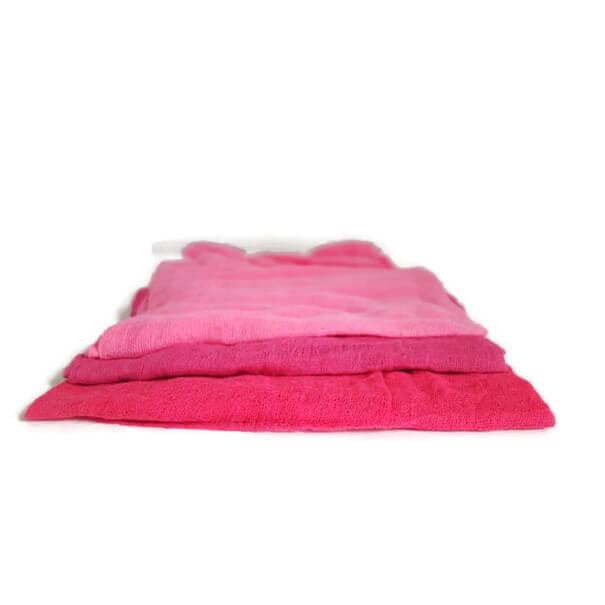 Ostheimer decoratiedoeken roze op de seizoentafel