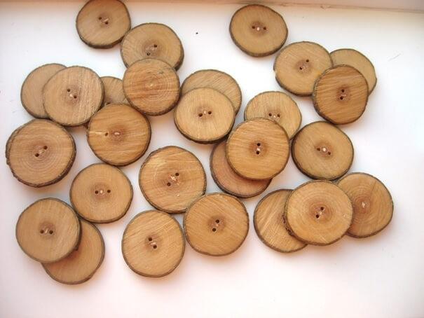Hoe maak je houten knopen ?