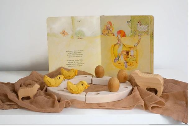 Wat stond er op mijn eerste seizoenentafel met Pasen ?